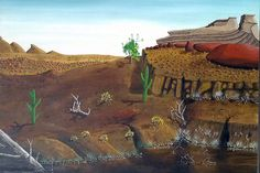 Disputed Peter Doig painting, NOT by Peter Doig