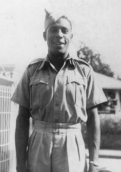"""Ulric Cross, the most highly decorated Caribbean airman in the RAF during World War II, died on October 4, 2013 at the age of 96. Because he was the only person of color in his squadron he was nicknamed """"The Black Hornet."""""""