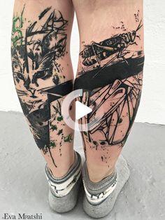 #legtattoos Flower Leg Tattoos, T Art, Design