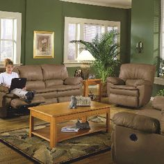 Brown Couch Green Walls Color Furniture And A Olive Sofa And
