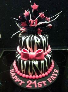 Zebra Cakes Decoration Ideas Little Birthday Cakes Birthday