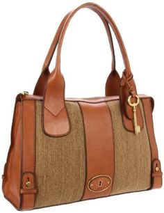 Fossil Re-Issue Vintage Camel Satchel # handbag # vintage#