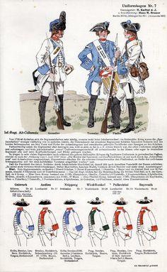 Austrian uniforms