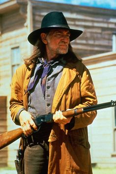 ONCE UPON A TEXAS TRAIN (1988) - Willie Nelson - Directed by Burt Kennedy - CBS-TV movie.