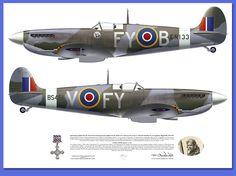 Supermarine Spitfire Mk IXC 611SQ Biggin Hill 1942-1943 @Mark Styling