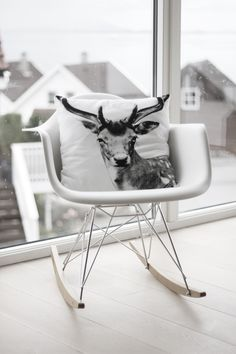 Have had the chair a while and another by nord pillow...love it! Easy to put anywhere in your house....