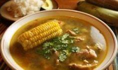 """Panamanian dish: """"Sancocho"""" (Chicken Soup)"""
