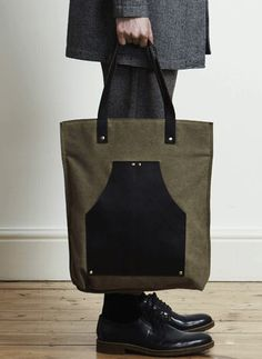 Brown Canvas/Leather Tote Bag | 29 Ideal Travel Bags For Your Next Trip