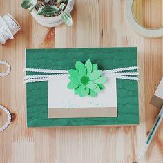 paper succulent gift wrap #anastasiamariecards