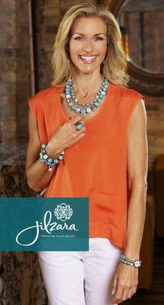 Check out our big, bold and beautiful Medium Keepsake Necklaces   http://jilzarah.com/shop/collections/peacock-teal/medium-keepsake-necklace/