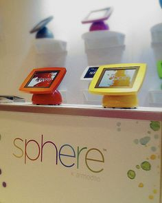 Armodilo Sphere™ Tablet Stand / iPad Kiosk / Point of Sale @ CETW 2013