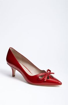 Joan & David 'Gardner' Pump (Nordstrom Exclusive) | Nordstrom    Why is it the BORING colors are the only ones in the size I want. In other words, I may like the red, but I'll likely buy the black.  Maybe.  Because now I've seen the red and its cuter.  Same issue with the Angolini Tanen Shoe.