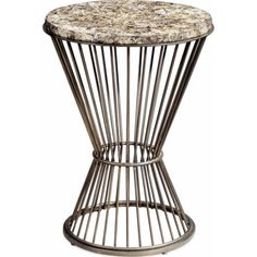 Cascade Round Chairside Table*