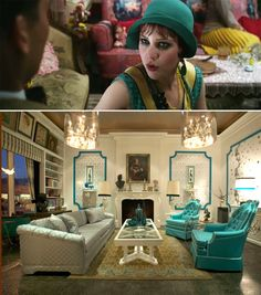 interiors inspired by Great Gatsby movie.
