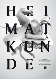 Fons Hickmann M23 - Jüdisches Museum Berlin - 100 Beste Plakate, 2011, Poster