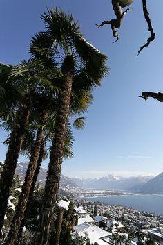Winter in Ticino. Switzerland.