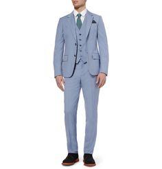 Alexander McQueenWool and# Mohair blend suit