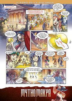 """""""Il Pomo della Discordia"""" from the Mythomakya webpage (www.mythomakya.it)"""