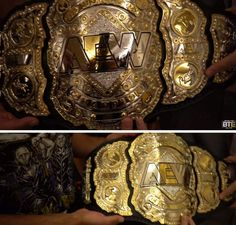 A closer look at the AEW World Heavyweight Championship  What are your thoughts? World Heavyweight Championship, Wrestling Superstars, Undertaker, Professional Wrestling, Wwe, Cool Stuff, Classic, Instagram Posts, Awesome