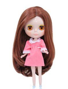 Wigs2dolls.com 人形・ドールウィッグ通販専門店 Doll Wig Online Store  B-151 理想的な知的でエレガンドな美人ロング★毛先の内巻きがポイントです! #Blythe #BJD #SD #SuperDofflie #Wig #Cosplay #Halloween #Fashion #Wedding #Hair #ヘア #ブライス