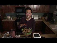 Strawberry Chia Seed Vinaigrette Salad Dressing: Vegan Raw Food Recipe - YouTube