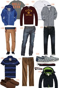 Style Your Life: Back to School: For a Young man of 16