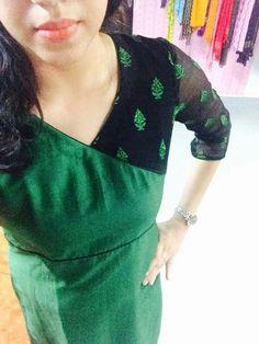 Salwar Neck Designs, Churidar Designs, Kurta Designs Women, Dress Neck Designs, Blouse Designs, Blouse Neck Patterns, Kurti Patterns, Salwar Dress, Salwar Kurta