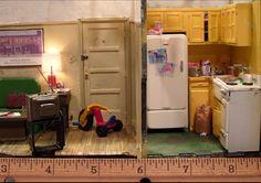 """BROOKLYN ROOFTOP"" (2005) 8 3/4 x 14 1/2 x 13 1/2 inches - ALAN WOLFSON"