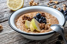 The Tummy Tox Almond Butter Oatmeal: Make this speedy breakfast recipe in the morning to energize your day. Diet Breakfast, Breakfast For Kids, Breakfast Recipes, Power Breakfast, Breakfast Cereal, Brunch Recipes, Breakfast Ideas, Dinner Recipes For Kids, Healthy Dinner Recipes