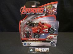 Thor & Iron Man Marvel Age of Ultron Action figures with ARC ATV 2 pack Hasbro
