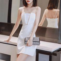 Korean Fashion Trends, Asian Fashion, Girl Fashion, Korean Dress, Korean Outfits, Aesthetic Fashion, Aesthetic Clothes, Classy Outfits, Pretty Outfits