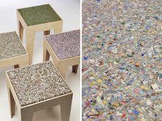 Value, billete material textil para taburetes, Angela Mathis