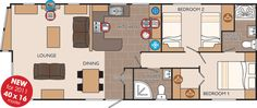 16X40 Cabin Floor Plans - PicsAnt