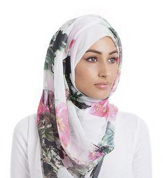 ink print hijab