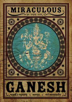 Ganesh the remover of obstacles. Traditionally he also places obstacles in the path of those who need to be checked. Arte Ganesha, Shri Ganesh, Lord Ganesha, Indian Gods, Indian Art, Om Gam Ganapataye Namaha, Graffiti, Hindu Deities, Wow Art