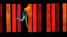 Handpainted Watercolor Music Video - Breakbot - Baby Im Yours