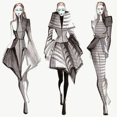 Mélique Street: Inspired by Gareth Pugh