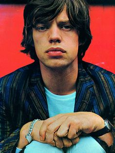 Mick Jagger in no. 26 issue of Pop Pics.