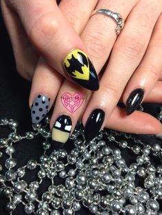 HoLy BatMan Nails! Nails by Katie Hart Eugene, Or 541-730-2662www.styleseat.com/KatieHart www.facebook.com/nailsbyKatieHart www.instagram.com/nailsbykatiehart #nails #notd #instanails #gelnails #gelish_official #gelishmini #lightelegance #acrylicnails #sparkle #glitter #handpainted #nailart #nailprodigy #nailsbyhart #styleseat #nailsmagazine #nailpromagazine #showmethemani #31nails2014