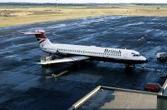 BAC 1-11 143: BAC 1-11 510ED G-AVMO British Airways Newcastle Airport