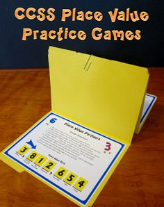 Place Value Practice Makes Perfect - Three Common Core aligned games from Laura Candler for helping students review and practice place value concepts for whole numbers and decimals. $
