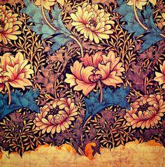 William Morris by proteamundi Textiles, Textile Patterns, Textile Design, Print Patterns, Needlepoint Patterns, William Morris Patterns, William Morris Art, Pattern Art, Pattern Design