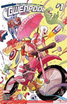 Gwenpool (2016) #1Gwen Poole solía ser un lector de cómics al igual que usted ... hasta que se despertó en un mundo donde los personajes que leía acerca parecían ser real! Pero no pueden ser, ¿verdad? Todo esto debe ser falsa, o un sueño o algo así, ¿verdad? ¿Y sabes lo que eso significa ... sin consecuencias! Gwenpool podría ser realmente el carácter de actuación de modely menos responsables y menos de Marvel hasta la fecha? Se puede si se trata!