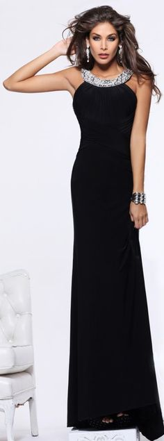 Fantastic Black Gown For Bridesmaids