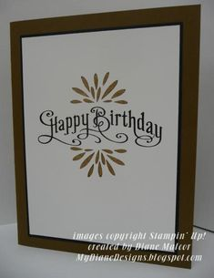 Simply Perfect by Diane Malcor - Cards and Paper Crafts at Splitcoaststampers