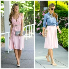 How to re-wear a bridesmaid dress