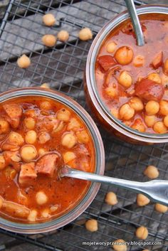 MojeTworyPrzetwory: Ciecierzyca po bretońsku Polish Recipes, Chana Masala, Healthy Recipes, Healthy Food, Stew, Tasty, Ethnic Recipes, Diet, Goulash