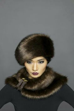 #DIVA'S CROWNING GLORY ~ RUSSIAN MINK HAT