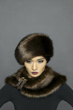 Fur Hat, vintage