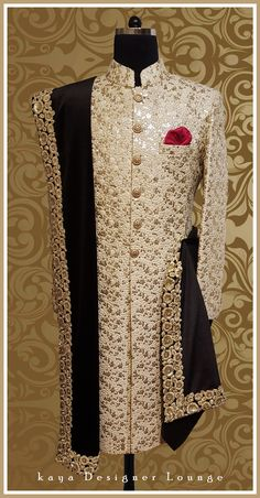 Best Ideas For Wedding Indian Lengha Grooms Indian Wedding Clothes For Men, Wedding Outfits For Groom, Groom Wedding Dress, Indian Wedding Wear, Sherwani For Men Wedding, Sherwani Groom, Wedding Men, Mens Indian Wear, Indian Men Fashion